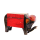 Elephant Shaped Multicolor Embossed Box in Wood return gift