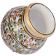 Decorative Marble Matki with Floral Design Work return gifts