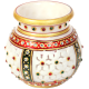 Decorative Marble Multicolor Candle Pot return gifts