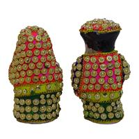 Decorative traditional Rajasthan handicraft figurine crafted with plaster of Paris