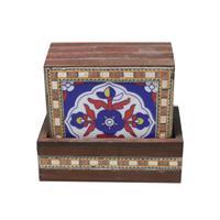 Gorgeous Set Of Jaipuri Tea Coasters Wood Hand Craft