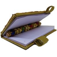 Rajasthani Handcrafted Diary With Pen