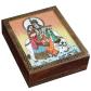 Gemstone wooden box