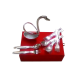 German Silver swan shaped spoon holder best for return gifts item-bh-0262