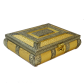 Wooden dryfruit box with Resin and brass BH-0602-1
