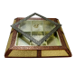 Incredible wooden dry fruit box with transparent lid BH-0608-2