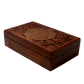 Rich hand crafted box made of finest quality wood BH-0612-1