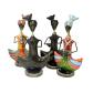 Colourful punjabi cultural music dolls as a showpiece BH-0621-1