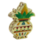 Kalash shaped wooden small size dryfruit box with meenakari design BH-0636-1