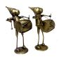 Set of brass made musician monkeys BH-0644-1
