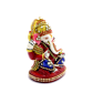 boontoon metal and stone ganesh with red stand1