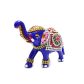 Boontoon metal elephant with stone work
