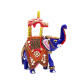 Boontoon metal elephant with stone work10
