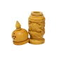 Boontoon Salt And Pepper Container Made Of Wood
