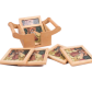 Wooden tea Coaster Printed with Gemstone