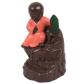 Buddha Monk Smoke Backflow Incense