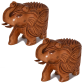 wooden elephant pair for return gifts
