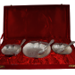 German silver bowl set for luxury gift