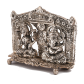laxmi and ganesh made of oxidised metal