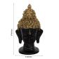 Meditating buddha head