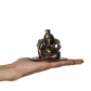 Lord ganesha on round base with aasan