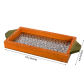 Jeweled wooden utility tray