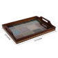Multipurpose wooden utility tray