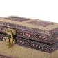 A dual compartment jewellery box