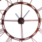 Handcrafted wall clock