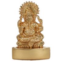 An elegant brass Lord Ganesh statue