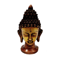 Beautiful Brass Handicrafts Buddha Statue For Home Decor