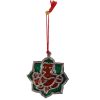 Oxidised metal decorative Ganesh  hanging