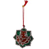 Oxidised metal decorative Ganesh  hanging