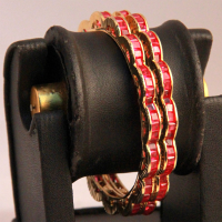 Crafted fashion bangles