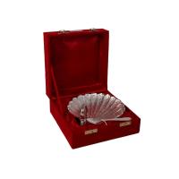 German Silver Swan Shaped Bowl & Spoon As Return Gifts