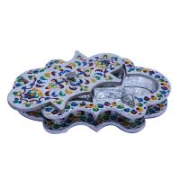 Wooden Meenakari Handicrafts Dry Fruit Gift Box Online