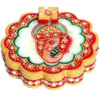Marble Items Flower Based Ganesh Chopra Online For Women