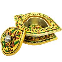 Heart-Shaped Meenakari Crafted Handmade Decorative Gift Box
