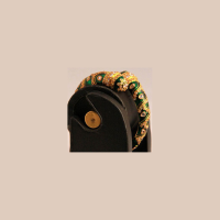 Gold plated twisted bangles