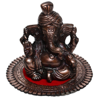 Metal Pagdi Lord Ganesha