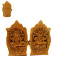 Innovative Folded Lakshmi-Ganesha