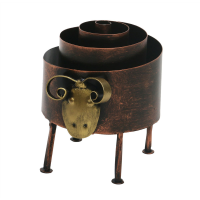 Iron And Copper Pen Stand