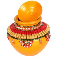 Jaipur Crafts Kundan Handmade Traditional Matki Online