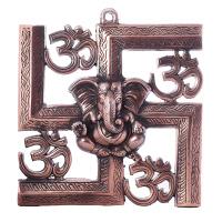 Metal Ganesha for Wall Hanging