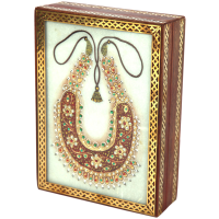 Marble Crafts Rajasthani Jewellery Box Has Necklace Design