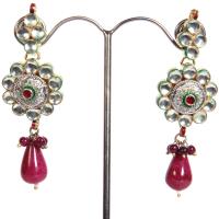 Metal based earrings