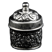 Oxidised metal & brass mouth freshener container