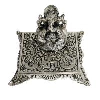 Oxidised Ganesh with Square chowki