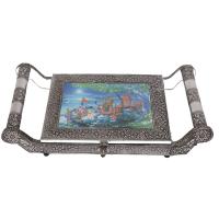 Oxidized Rajasthani Artwork Dry Fruit Gift Box Online