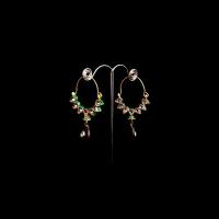 Rajasthani bali shaped earrings